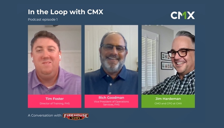 CMX ITL Podcast Episode #1 with Firehouse Subs